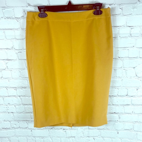 The Limited Dresses & Skirts - The Limited Gold pencil skirt Sz 10